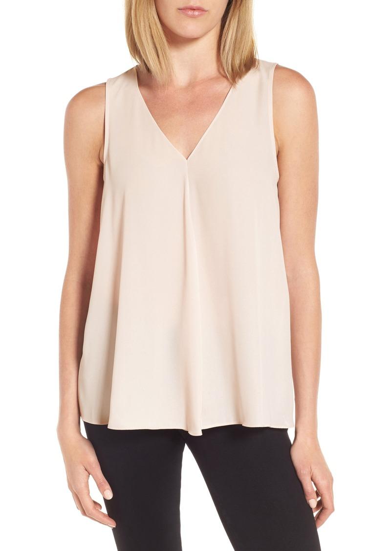 Vince camuto vince camuto v neck drape front blouse for Vince tee shirts sale