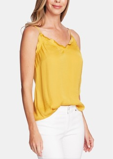 Vince Camuto V-Neck Ruffled Camisole