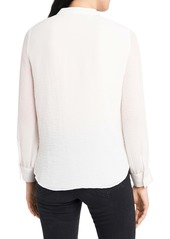 Vince Camuto V-Neck Rumple Blouse