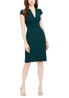 Vince Camuto V-Neck Sheath Dress