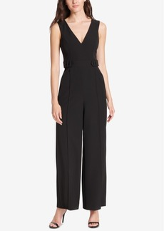 Vince Camuto V-Neck Sleeveless Jumpsuit