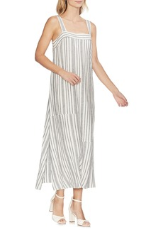 Vince Camuto Variegated Stripe Maxi Dress