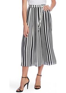 Vince Camuto Variegated Stripe Rope Midi Skirt