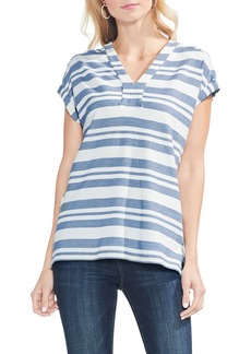 Vince Camuto Variegated Stripe Top