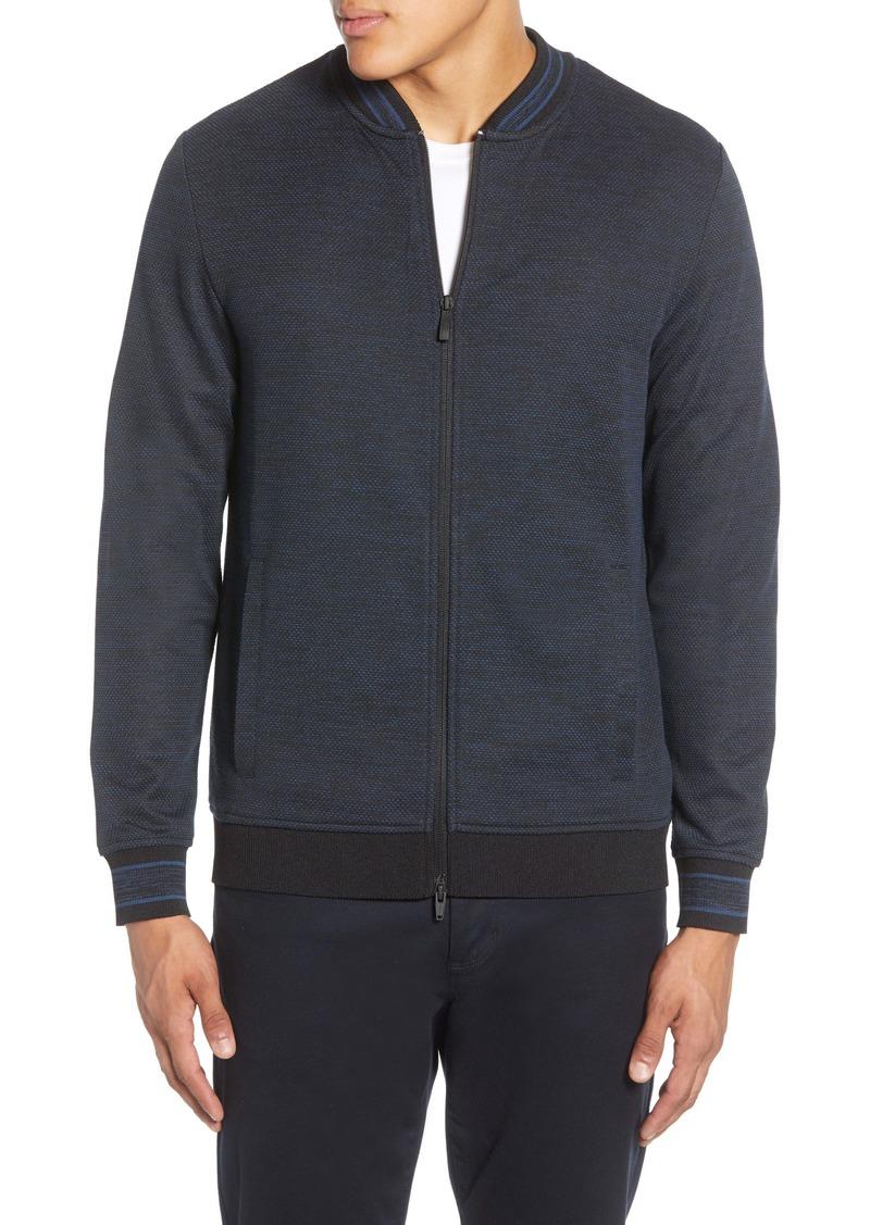 Vince Camuto Varsity B Slim Fit Jacket