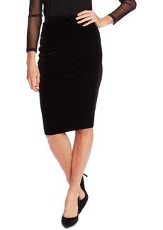 Vince Camuto Velvet Midi Skirt