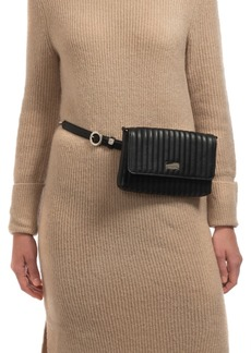 Vince Camuto Vertical Stitch Convertible Belt Bag