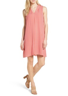 Vince Camuto Villa Tile Print Shift Dress