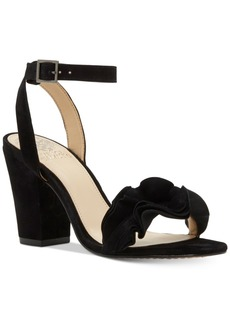 Vince Camuto Vinta Two-Piece Ruffle Sandals Women's Shoes