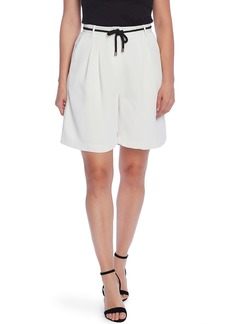 Vince Camuto Washed Pique Bermuda Shorts