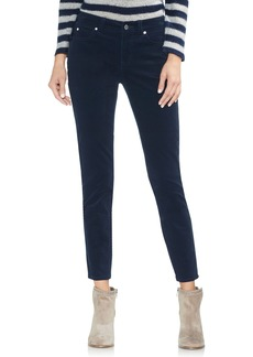 Vince Camuto Washed Stretch Cotton Corduroy Skinny Pants