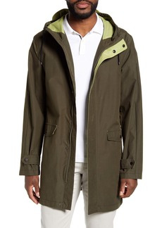 Vince Camuto Water Resistant Hooded Raincoat