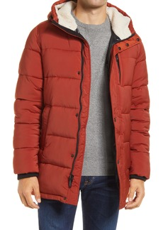 Vince Camuto Water Resistant Quilted Stretch Parka