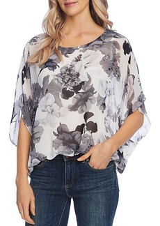 VINCE CAMUTO Watercolor Melody Floral Blouse - 100% Exclusive