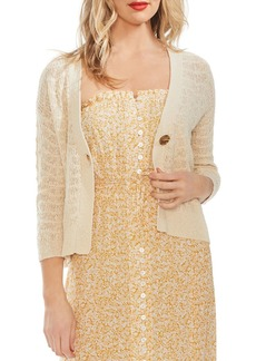 VINCE CAMUTO Wave Knit Cardigan