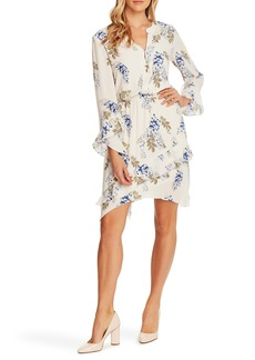 Vince Camuto Weeping Willows Long Sleeve Dress