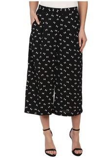 Vince Camuto Wide Leg Geo Ties Culottes