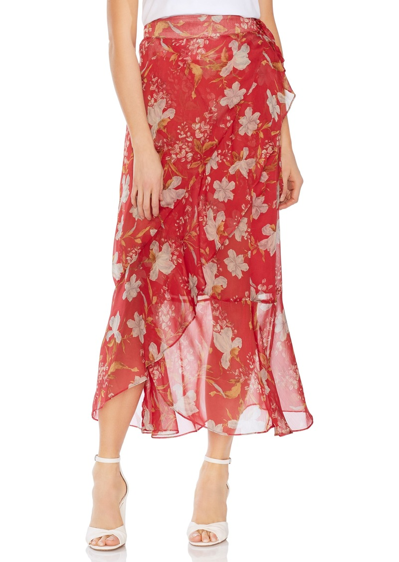 c75c3a71d On Sale today! Vince Camuto Vince Camuto Wildflower Faux Wrap Skirt