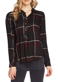 Vince Camuto Windowpane Check Shirt