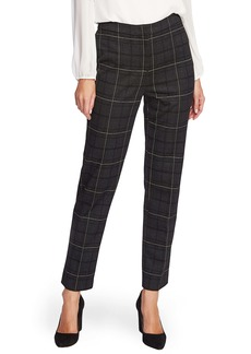 Vince Camuto Windowpane Plaid Ankle Pants