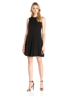 Vince Camuto Women's 3/4 Sleeve Swingy Shift Dress