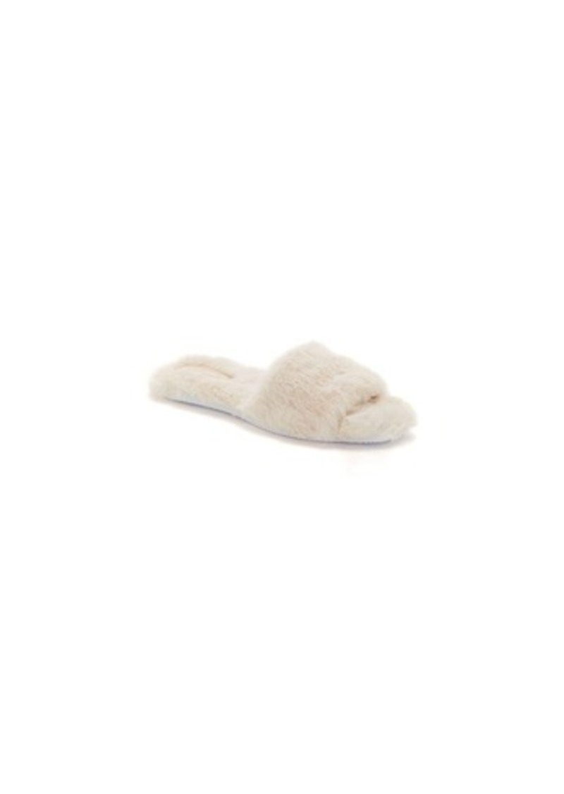 Vince Camuto Women's Ampendie Fuzzy Slide Slippers Women's Shoes