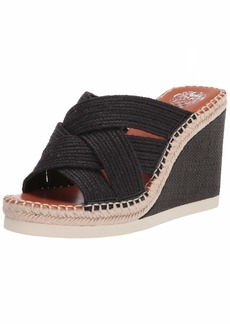 Vince Camuto Women's Bailah Woven Wedge Sandal Espadrille