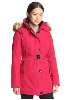 Vince Camuto Women's Belted Sporty Down Coat