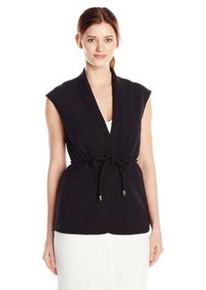 Vince Camuto Women's Belted Vest