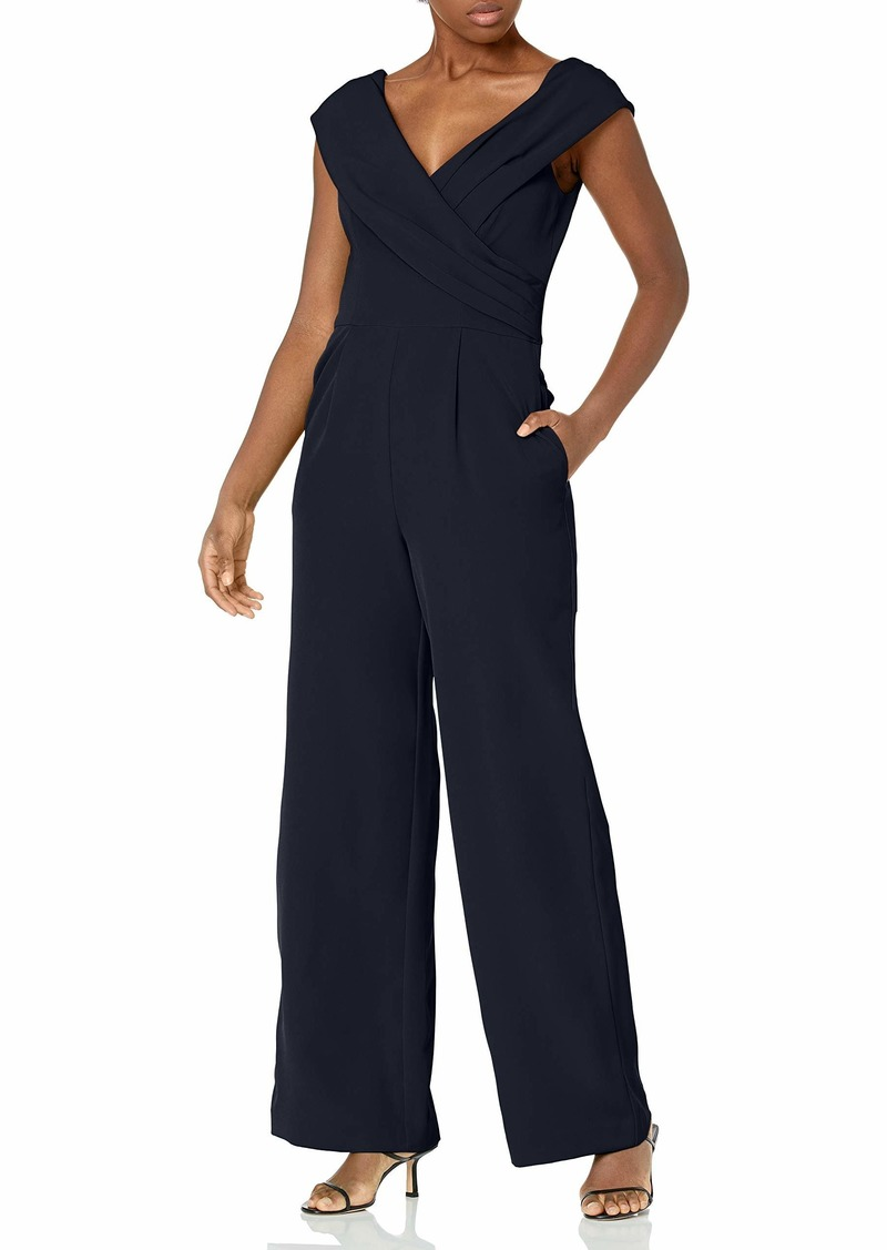 Vince Camuto Women's Bodice Double Lined Off-The-Shoulder Jumpsuit