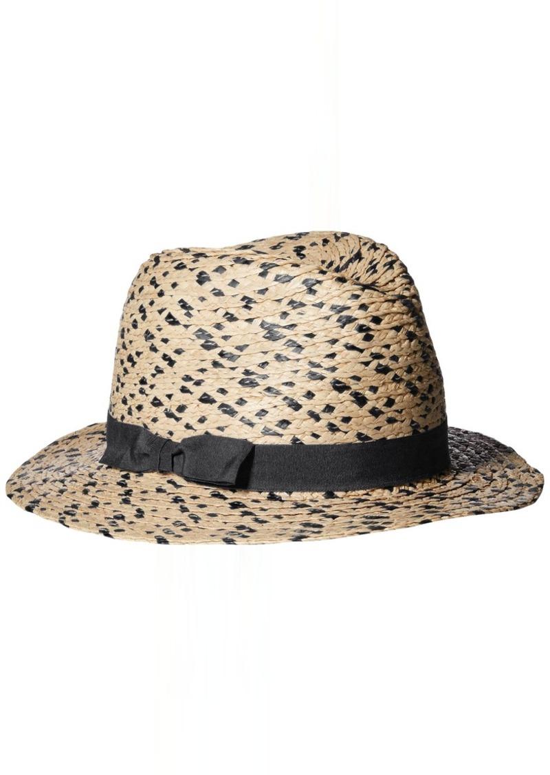 Vince Camuto Vince Camuto Women s Braided Raffia Fedora Hat - Shop ... cc1157ad937