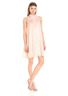 Vince Camuto Women's Burnout Float Dress