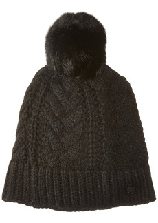 Vince Camuto Women's Cable Cardigan Stitch Pom Hat