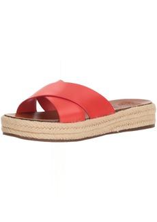 Vince Camuto Women's Carran Slide Sandal hot/Spicy  Medium US