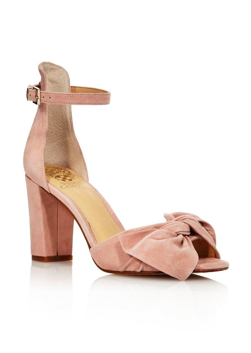 b962b32c782 Women's Carrelen Suede Bow Block Heel Sandals - 100% Exclusive
