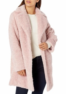 Vince Camuto Women's Chic and Warm Faux Fur Jacket  L