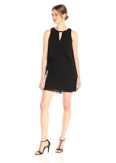 Vince Camuto Women's Chiffon Sleeveless Float Dress