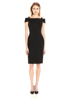 Vince Camuto Women's Cold Shoulder Bodycon Dress