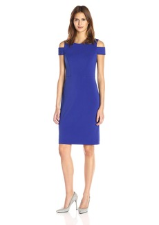 Vince Camuto Women's Cold Shoulder Sheath Dress
