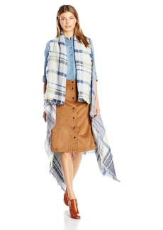 Vince Camuto Women's Colorblock Plaid Vest