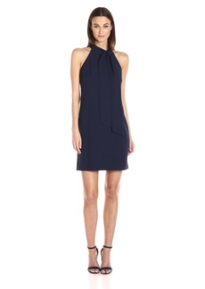 Vince Camuto Women's Crepe Halter Shift Dress