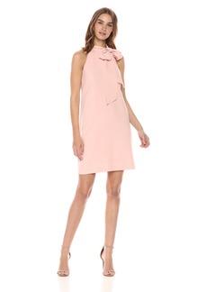 Vince Camuto Women's Crepe Halter Shift Dress
