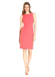 VINCE CAMUTO Women's Crepe Midi Length Bodycon Dress