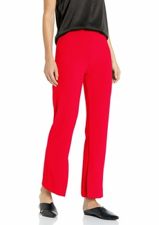 Vince Camuto Women's Crepe Ponte Pant with Inside Slit