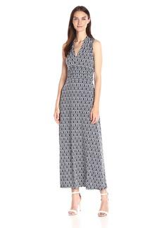 Vince Camuto Women's Diamond Phrase Halter Maxi Dress