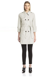 Vince Camuto Women's Double-Breasted Trench