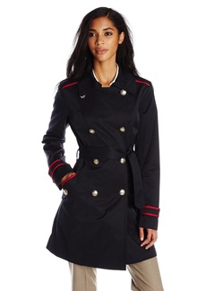 Vince Camuto Women's Double Breasted Trench Coat