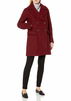 Vince Camuto Women's Double Breasted Wool Coat