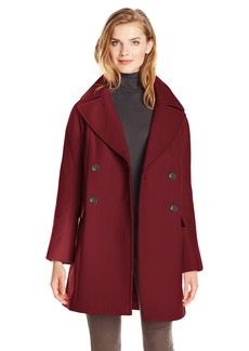 Vince Camuto Women's Double Breasted Wool Coat  Large