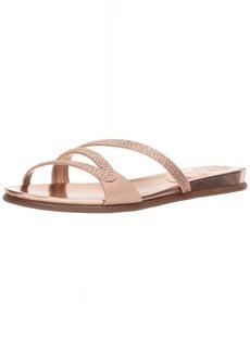 Vince Camuto Women's Elouisa Flat Sandal   M US